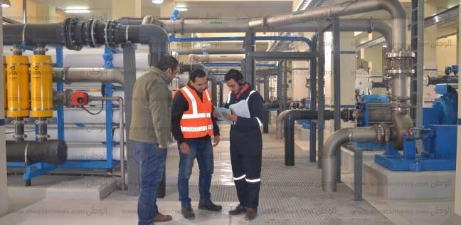 """""""رئيس مياه مطروح"""": افتتاح محطة تحلية مياه البحر """"الرملية 3"""" قريبا"""