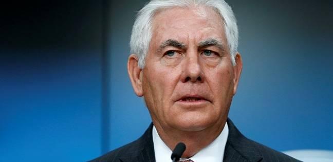 وزير الخارجية الأمريكي تيلرسون يقول إنه سيترك منصبه نهاية الشهر