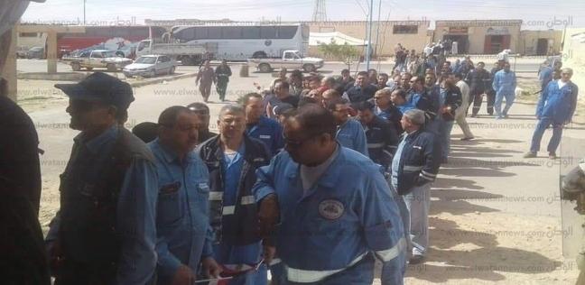 طوابير أمام لجان الاستفتاء على الدستور بمطروح
