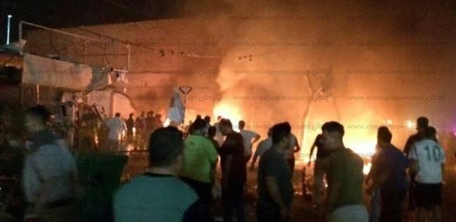 عاجل| سقوط صواريخ كاتيوشا قرب موقع السفارة الأمريكية في بغداد