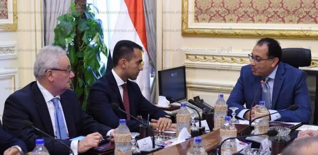 «مدبولى» لـ«نائب رئيس وزراء إيطاليا»: حريصون على تحول مصر إلى مركز إقليمى لتداول الطاقة ونقلها إلى أوروبا