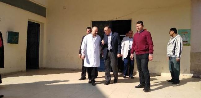 محافظ الشرقية يتفقد مستشفى السعديين في منيا القمح