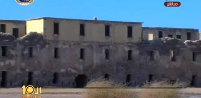 بالفيديو| طابية عرابي الأثرية تتحول إلى وكر لتعاطي المخدرات