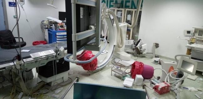 عميد معهد القلب: الغرفة المحطمة كانت تعالج 15 حالة يوميا