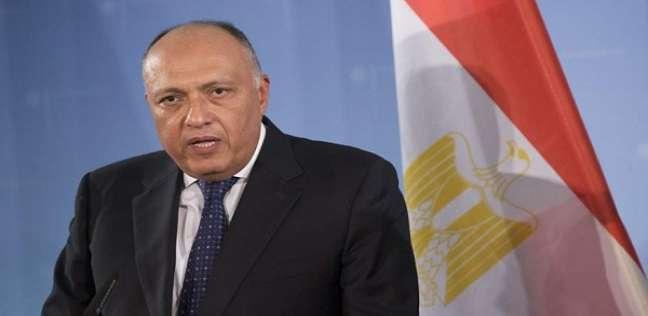 وزير الخارجية: ألمانيا تريد توثيق التعاون مع مصر بشأن مكافحة الإرهاب