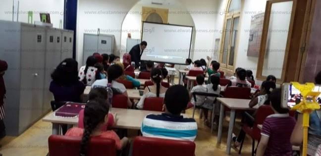"""""""المهندس الصغير"""".. ورشة لتعليم الأطفال صيانة الحاسب الآلي في دمنهور"""