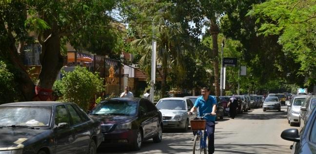 أحد شوارع المعادي