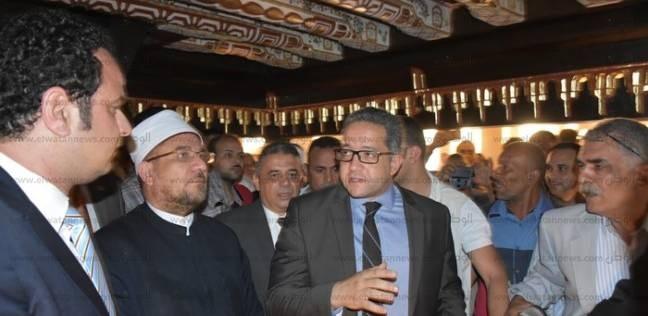 وزيرا الأوقاف والآثار يتفقدان أعمال تجديد مسجد المحلي الأثري برشيد