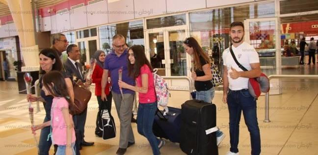 إقبال كبير على المنتجعات السياحية في جنوب سيناء
