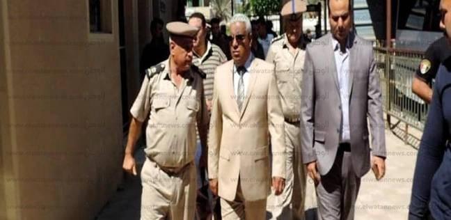 مدير أمن كفرالشيخ يتفقد الحالة الأمنية بمجمع المحاكم والمعاهد الأزهرية