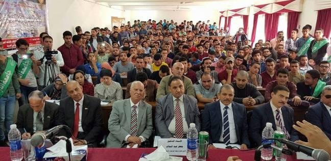 عميد كلية الدراسات الإسلامية والعربية يلقي محاضرة بجامعة المنصورة