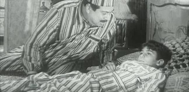 حسين رياض في لقطة من الفيلم