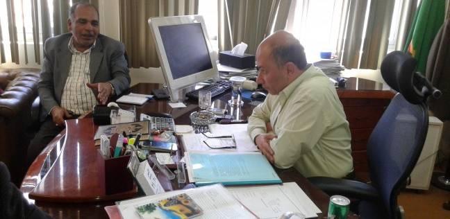 مناقشة 15 شكوى في لقاء خدمة المواطنين الأسبوعي بشركة المياه بالفيوم