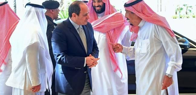 عاجل  السيسي يلتقي الملك سلمان في نيوم