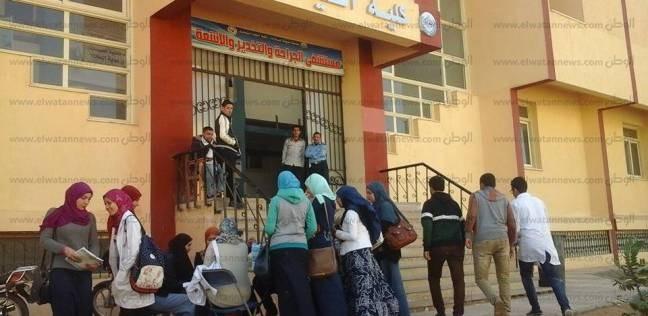 """حملة تبرع بالدم بـ""""صيدلة المنوفية"""" لصالح مستشفى القصر بـ""""شبين الكوم"""""""