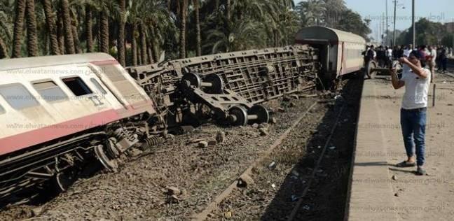 مساعد وزير النقل: سائق قطار المرازيق فوجئ بتحويل المسار