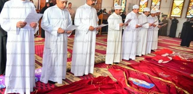 إتمام طقوس رهبنة 4 طلاب بدير العذراء في وادي النطرون