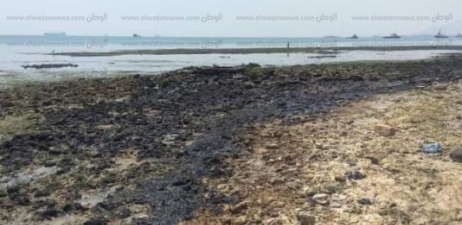 نيابة السويس تتسلم التحريات النهائية في التلوث البترولي بمياه الخليج