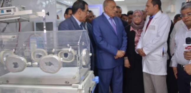 محافظ الجيزة يفتتح أعمال تطوير مستشفى منشأة القناطر
