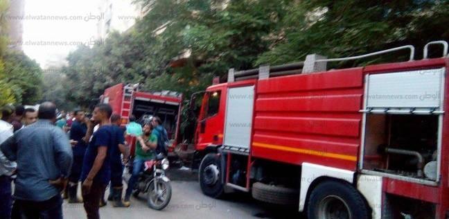 إخماد حريق التهم محتويات شقة سكنية دون إصابات في العمرانية