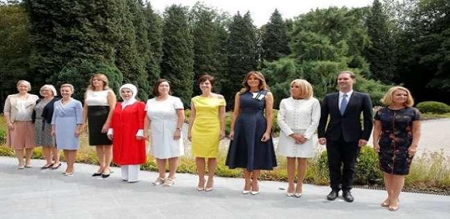 زوجات قادة حلف الناتو