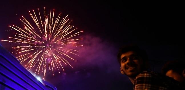 احتفال الدول برأس السنة 2021