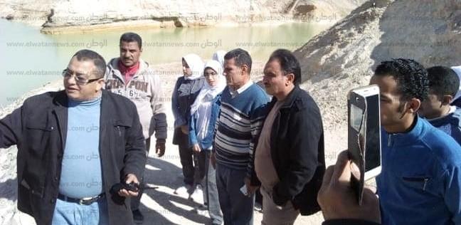 رحلات مدرسية لزيارة مشروعات الحماية من السيول بجنوب سيناء