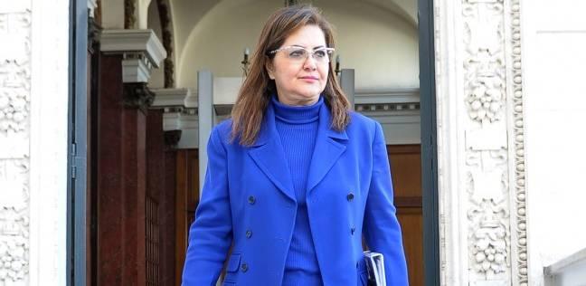 """وزيرة التخطيط تناقش مع """"المحررين الاقتصاديين"""" خطة التنمية الاقتصادية"""