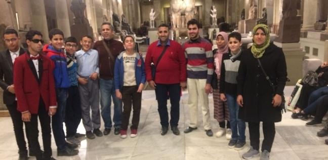 """رحلة سياحية لـ""""القاهرة والجيزة"""" بمشاركة طلاب """"النور والأمل"""" بدمياط"""