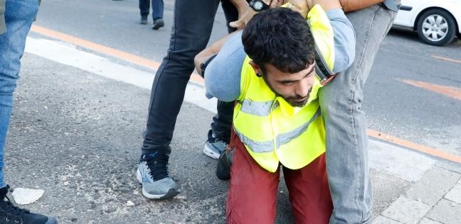 """بالصور  مظاهرات بـ""""السترات الصفراء"""" في إسرائيل احتجاجا على غلاء الأسعار"""