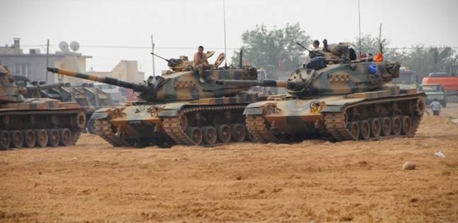إرهابيون يتبادلون إطلاق النار مع الجيش التركي بالقرب من حدود سوريا