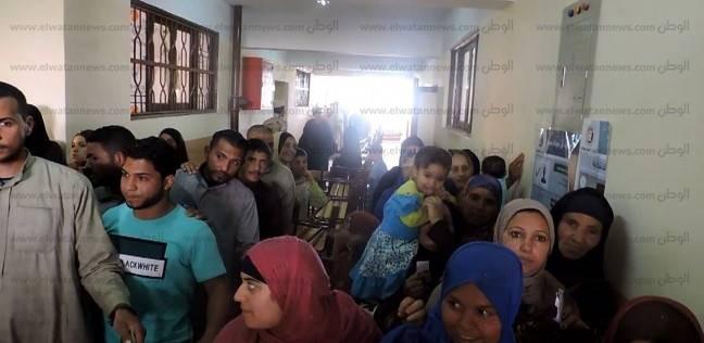 """""""عمليات قومي المرأة"""" ببني سويف: تزايد الإقبال مع منتصف اليوم الأول"""