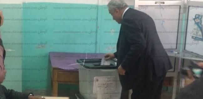 نقيب المحامين عقب الإدلاء بصوته: أدعو المصريين للمشاركة في الانتخابات