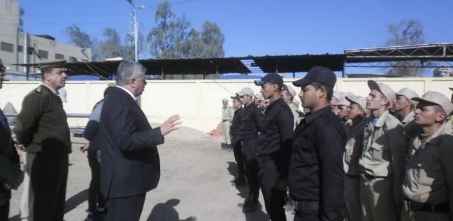 جولة مفاجئة لمدير أمن المنوفية على إدارة قوات الأمن بقويسنا