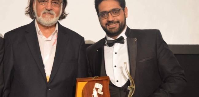 مهند دياب يحصل على جائزة لجنة التحكيم بمهرجان النهج السينمائي بالعراق