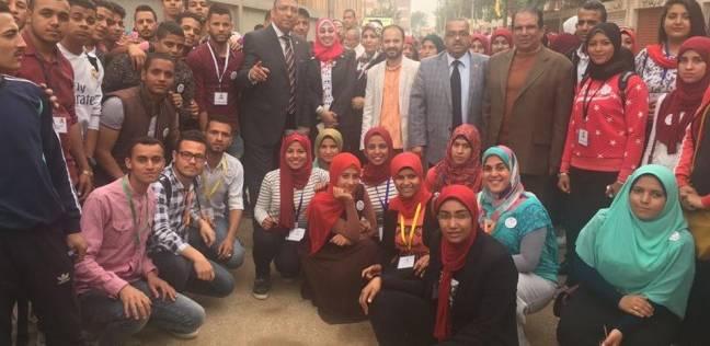 جامعة المنيا ترسل وفود طلابية للمشاركة في الانتخابات الرئاسية