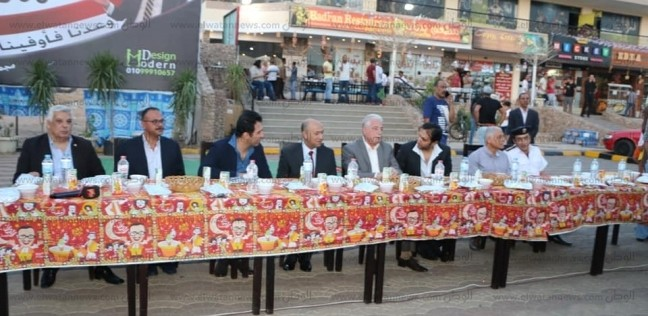 بالصور| محافظ جنوب سيناء يشهد إفطار شباب المستثمرين في شرم الشيخ