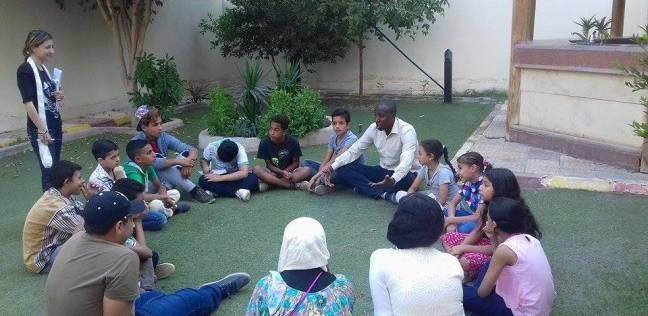 """""""ضحك لعب وجد"""" في معسكر يجمع أطفالا مسلمين ومسيحيين في المنيا"""
