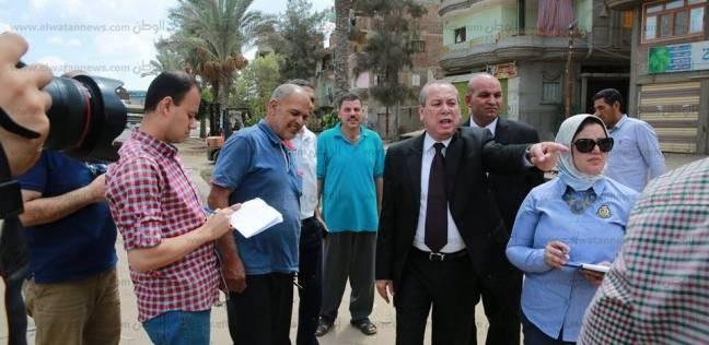 محافظ كفرالشيخ: غرامة 1000 جنيه لرش مياه الشرب بالشوارع
