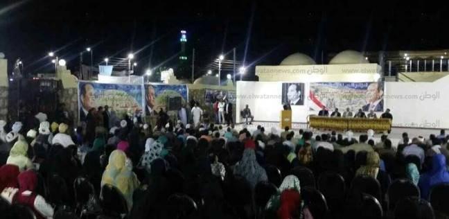 """""""شباب أبو سمبل"""" يعلنون دعمهم للسيسي"""