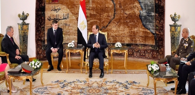 عاجل.. السيسي يبحث سبل تعزيز التعاون العسكري مع وزير دفاع روسيا - مصر -
