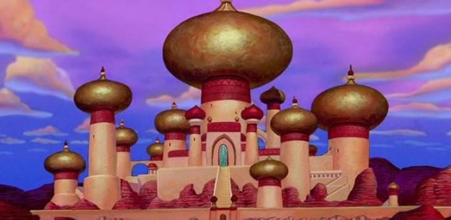 قصر ديزني كرتون