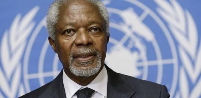 وفاة كوفي عنان الأمين العام الأسبق للأمم المتحدة