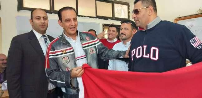بالفيديو| طارق علام يدلي بصوته في الاستفتاء على تعديلات الدستور