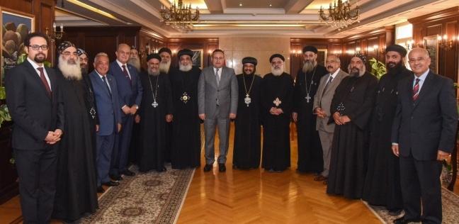 قنصوة لرؤساء كنائس الإسكندرية: نحتاج أفكار قابلة للتنفيذ