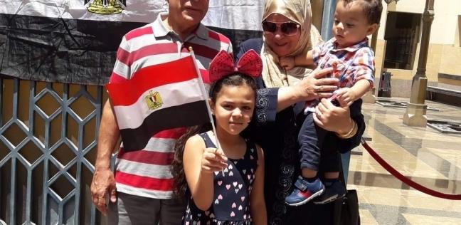 المصريون في جدة يدلون بأصواتهم في الاستفتاء على التعديلات الدستورية