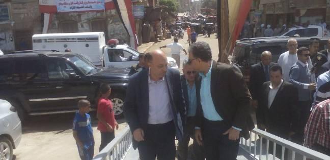 وزير النقل يتفقد محطة سكة حديد المنشاة بسوهاج