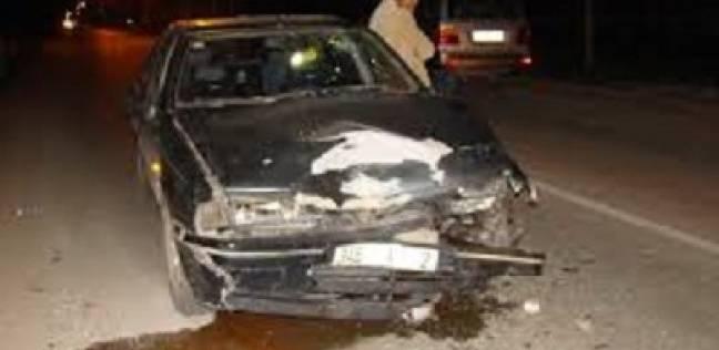 """إصابة 4 بينهم أمين شرطة في حادث انقلاب سيارة بـ""""صحراوي بني سويف"""""""