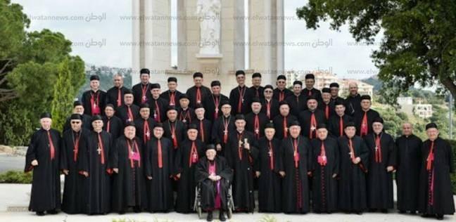 مطران الموارنة يسافر لبنان لحضور سينودس الكنيسة المارونية