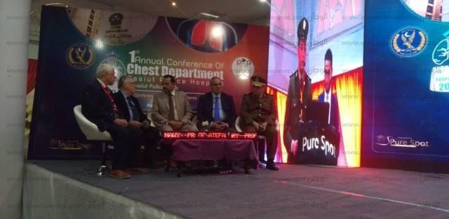 """انطلاق مؤتمر """"الجديد في الأمراض الصدرية"""" في مستشفى شرطة أسيوط"""